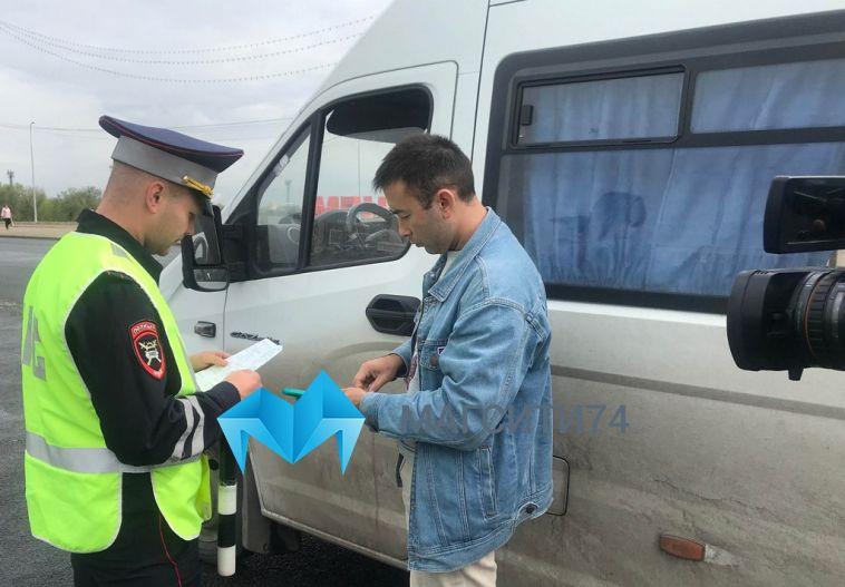 Сотрудники полиции провели очередной рейд маршрутных такси
