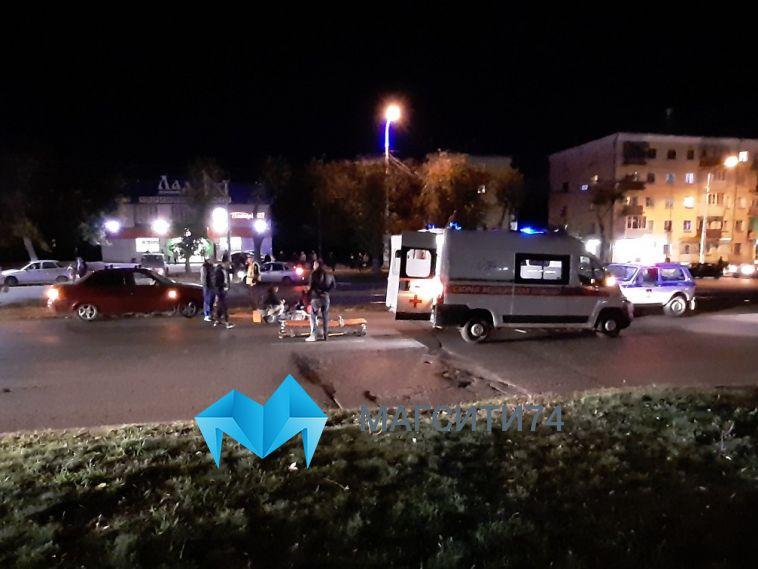 На пешеходном переходе улицы Грязнова сбили пожилую женщину