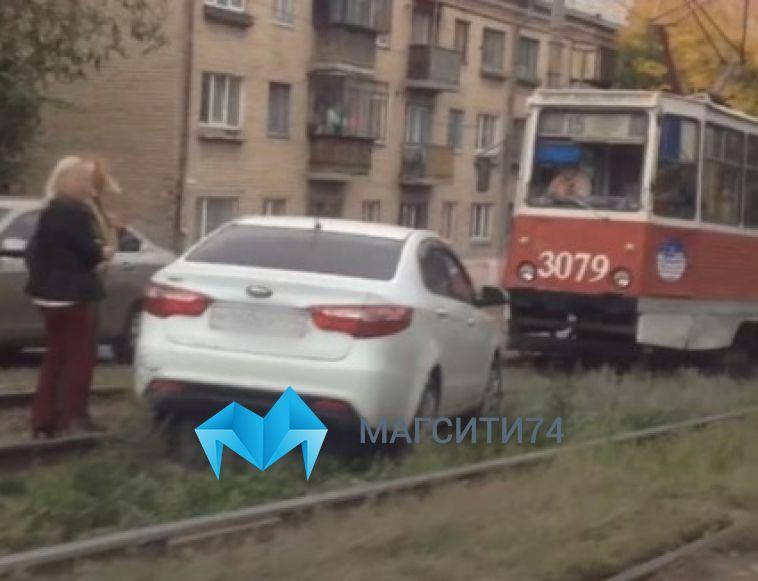 В Ленинском районе на перекрёстке сбили женщину