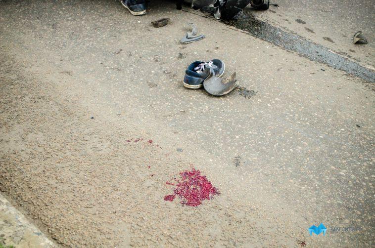 На трассе под Магнитогорском погиб пассажир иномарки