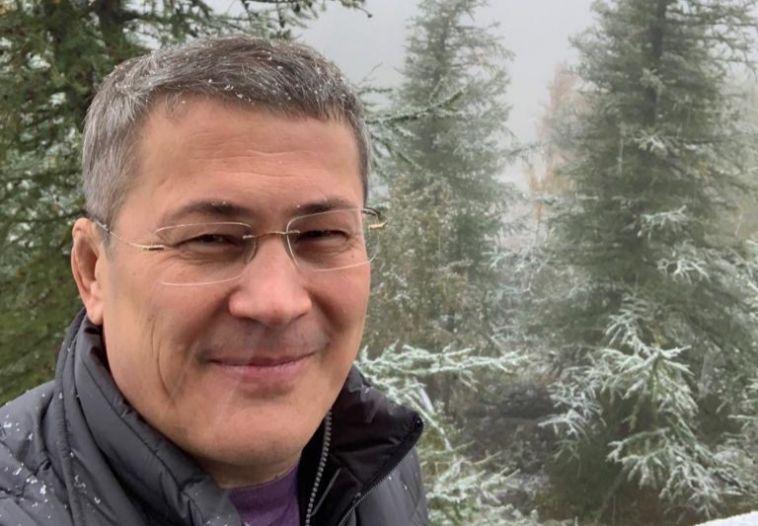 В Абзелиловском районе выпал первый снег