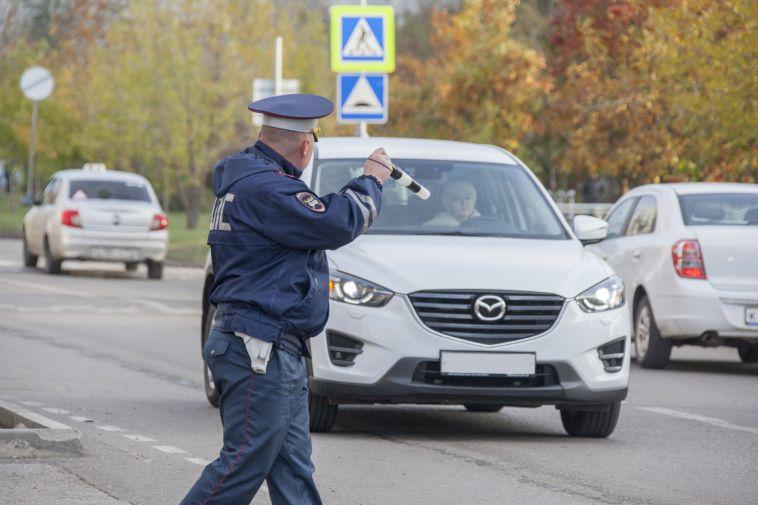 В Магнитогорске во время детского рейда поймали пьяного водителя