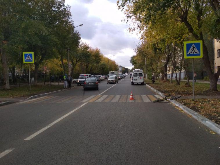 Пострадавший в ДТП на Гагарина велосипедист нарушил правила