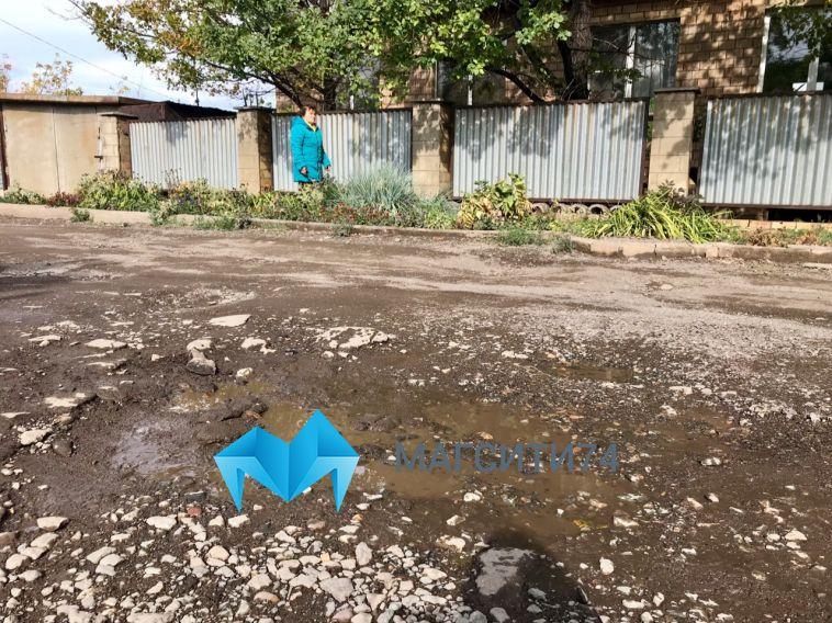 Жители левого берега пожаловались на «полосу препятствий» вдоль домов