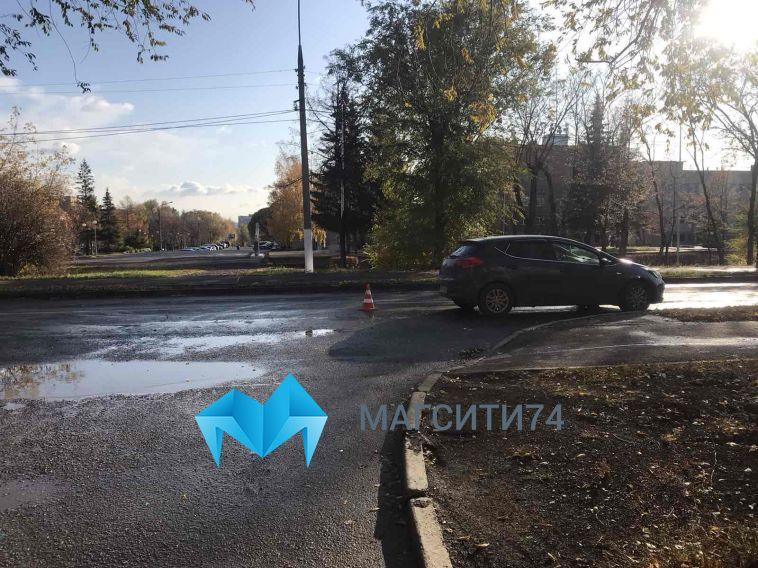 В Магнитогорске десятилетний мальчик попал под колеса автомобиля