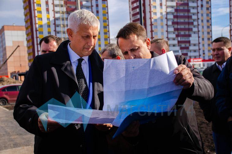 «Больших замечаний нет»: глава города осмотрел строительство новой трамвайной ветки