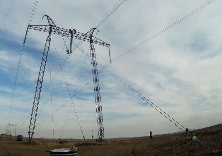 Под Магнитогорском отремонтировали ЛЭП без отключения электричества