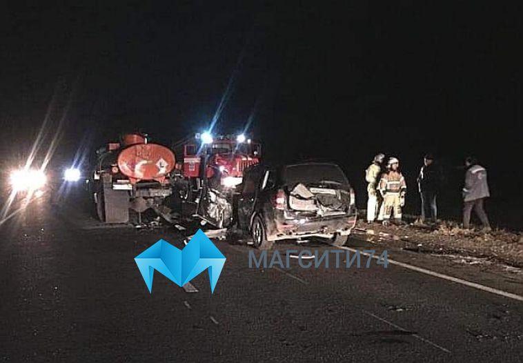 На башкирской трассе произошло смертельное ДТП