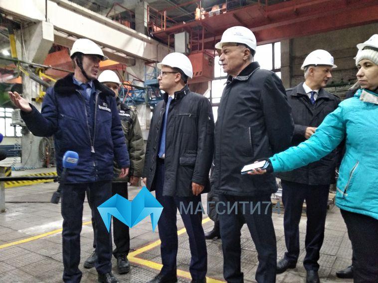 В Магнитогорск прибыл с визитом Алексей Текслер