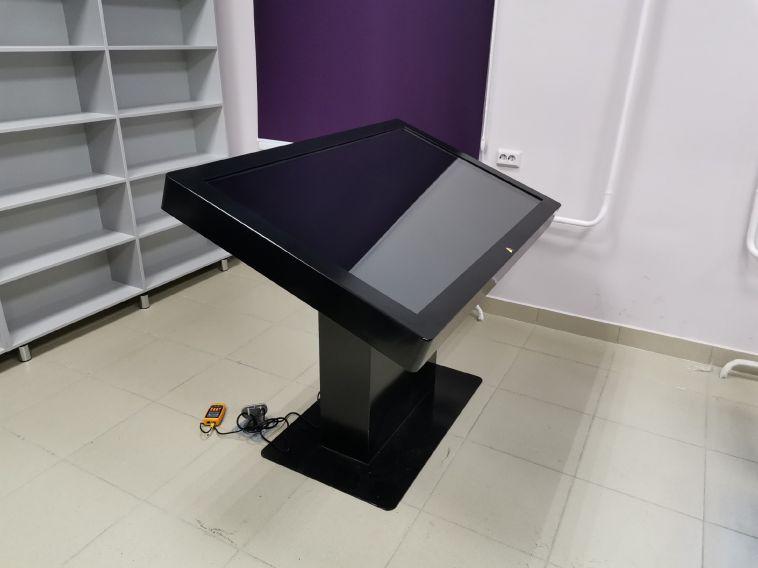 Вмагнитогорской библиотеке появился интерактивный стол