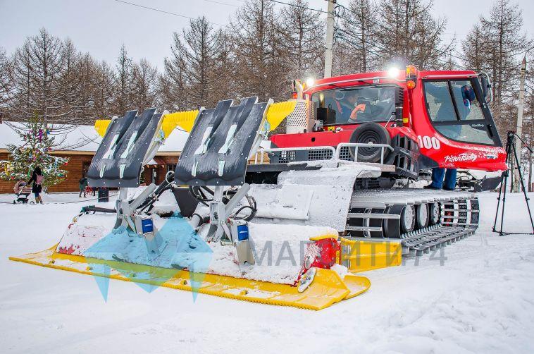 В Магнитогорске появилась новая техника для подготовки лыжных трасс