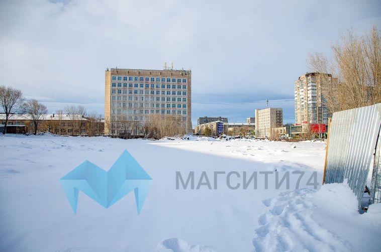ВМагнитогорске снесли недостроенное здание таможни