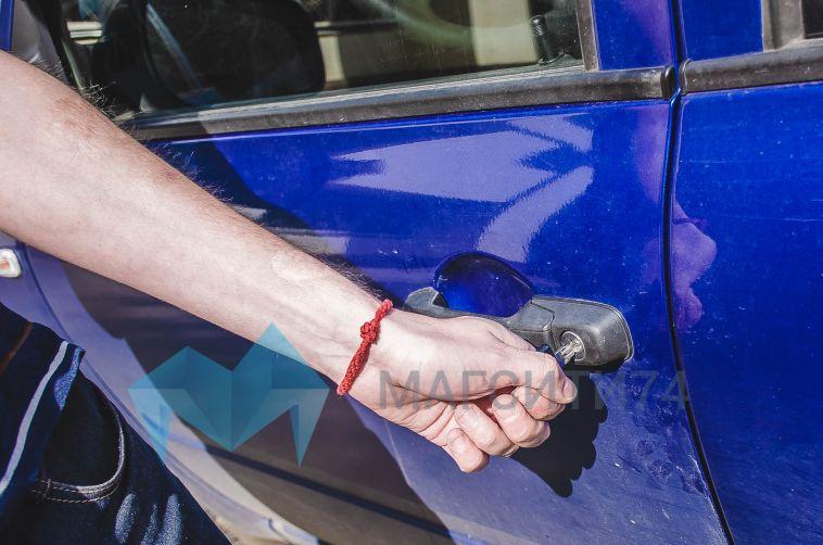 14-летний магнитогорец угнал автомобиль