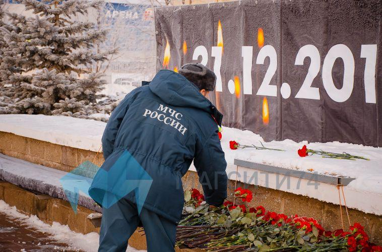 В Магнитогорске прошла панихида по погибшим при обрушении подъезда