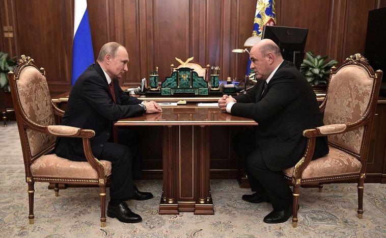 Путин предложил кандидатуру напост премьер-министра