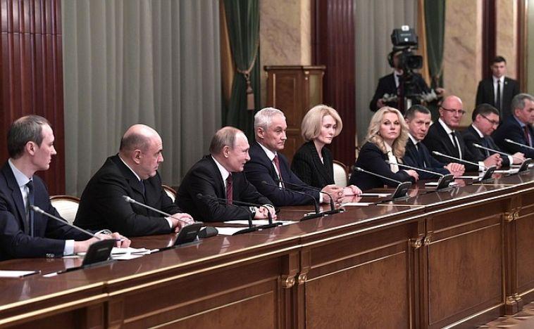 Сформировано новое правительство в России
