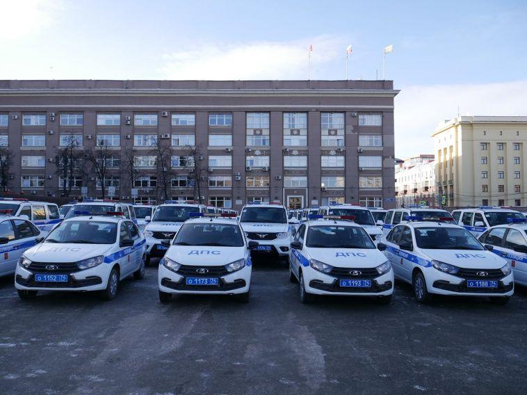 ГИБДД Челябинской области пополнилось новыми патрульными автомобилями
