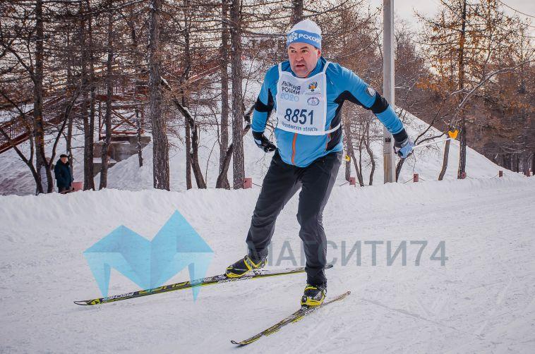 Сегодня в экопарке состоялась ежегодная массовая гонка на лыжах