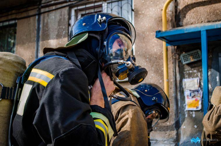 В Магнитогорске при пожаре погиб мужчина