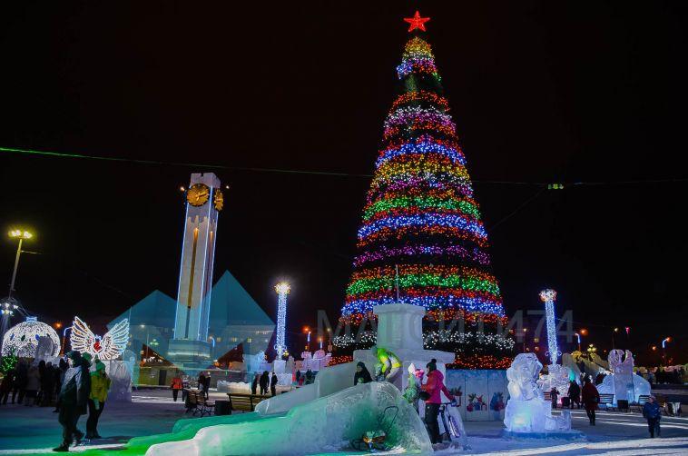 В Магнитогорске состоится закрытие центрального ледового городка