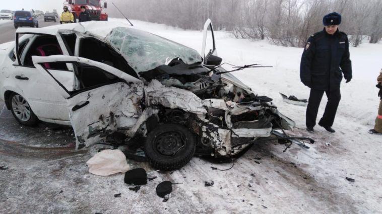 В ДТП под Магнитогорском погибли два человека
