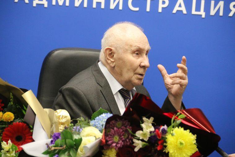 Самый молодой доктор наук на Южном Урале отпраздновал свое 80-летие