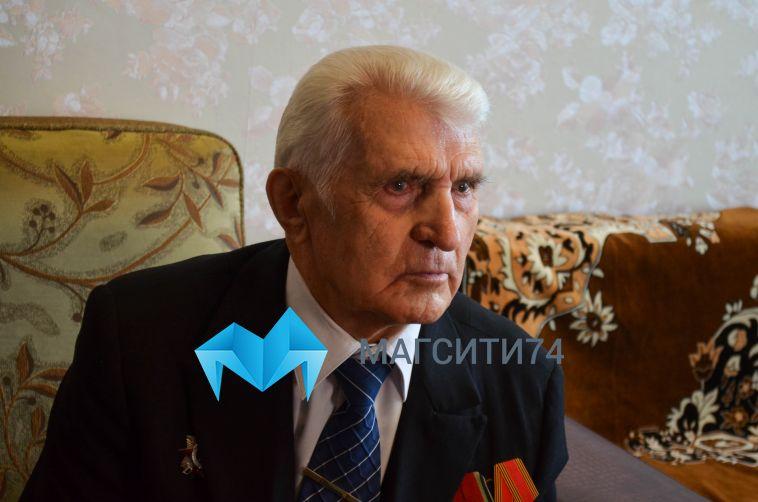 Ветерану Великой Отечественной войны вручили медаль в честь юбилея Победы