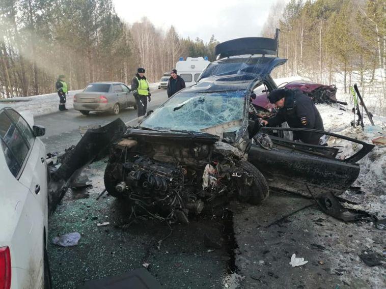 На уфимской трассе произошло смертельное ДТП