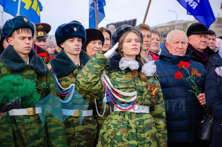 В Магнитогорске состоялся торжественный митинг ко Дню защитника Отечества