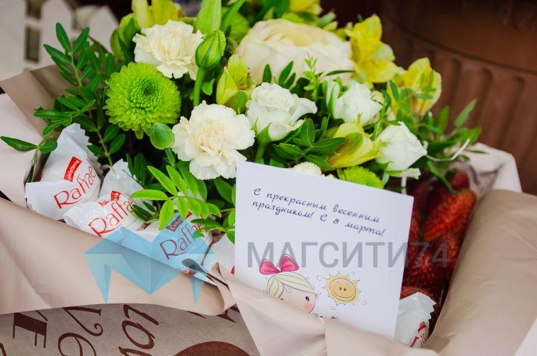 Живые, съедобные и даже мыльные: какие цветы подарить в женский праздник?