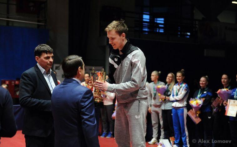 Студент МГТУ стал призёром чемпионата России по настольному теннису