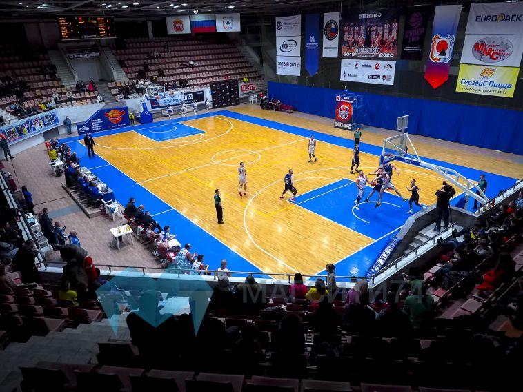 Магнитогорские баскетболисты дважды одержали победу над «Иркутом»