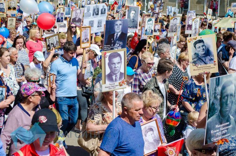 В Магнитогорске в седьмой раз пройдет шествие Бессмертного полка