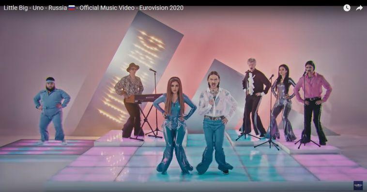 Клип на песню для «Евровидения-2020» группы Little Big набрал свыше 2 млн просмотров
