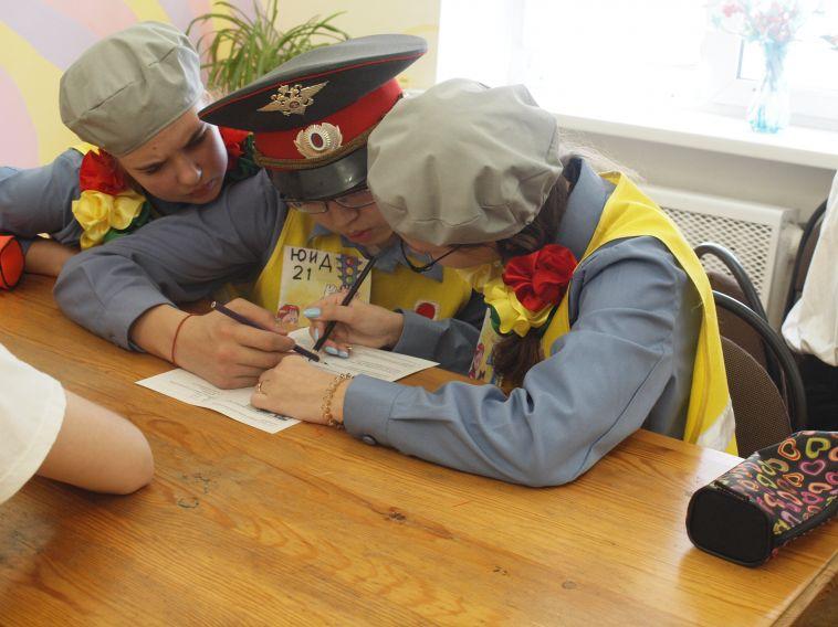 В Магнитогорске выбрали лучших дорожных инспекторов среди школьников