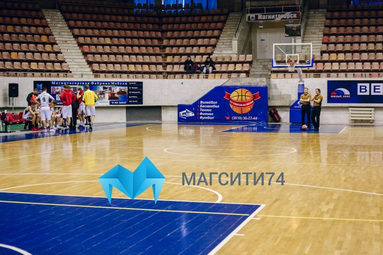 Баскетбольные матчи с участием магнитогорского «Динамо» пройдут без зрителей в Тамбове