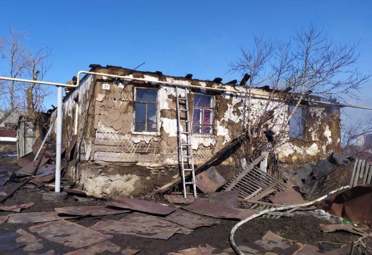 В Агаповском районе в пожаре погиб ребенок