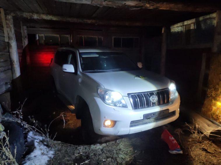 Угнанную иномарку из Магнитогорска полицейские нашли в Карталах