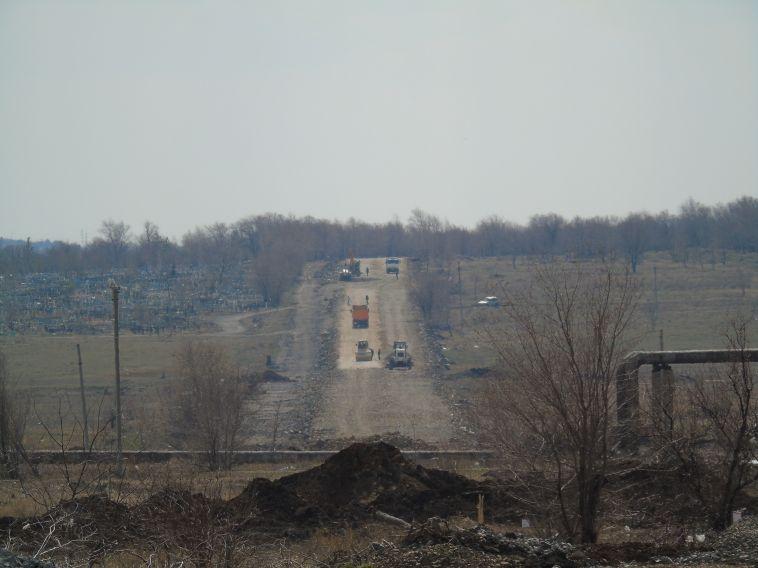 В Магнитогорске продолжили реконструкцию Восточного шоссе