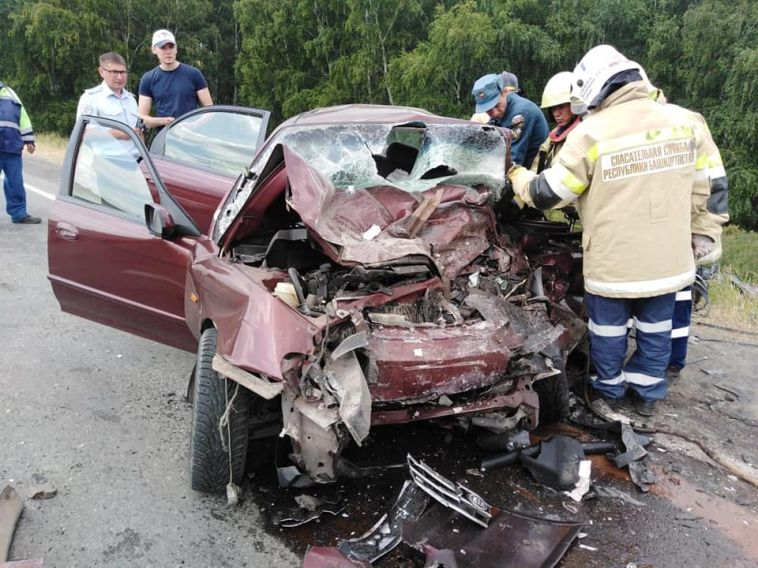Автомобилистка погибла ваварии недалеко отМагнитогорска