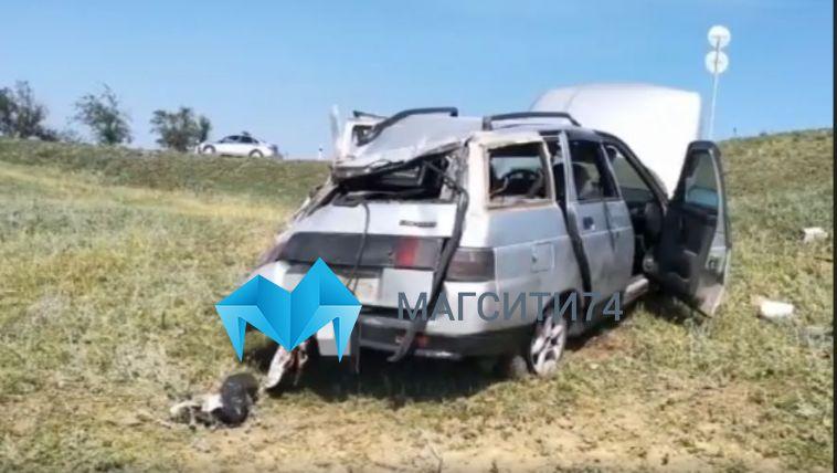 Водитель на «ВАЗ-2111» совершил смертельный переворот в Абзелиловском районе