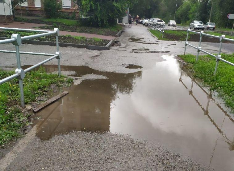 В Магнитогорске дождь показал проблемные места