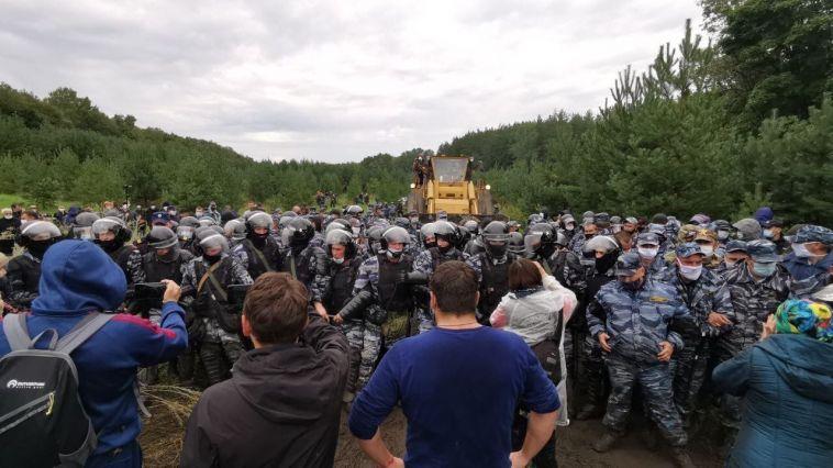 В Башкирии активисты подняли общественный протест в защиту горы Шихан Куштау