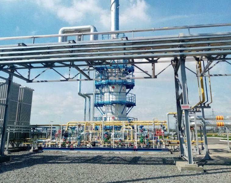 В Магнитогорске открыли комплекс по сжижению природного газа