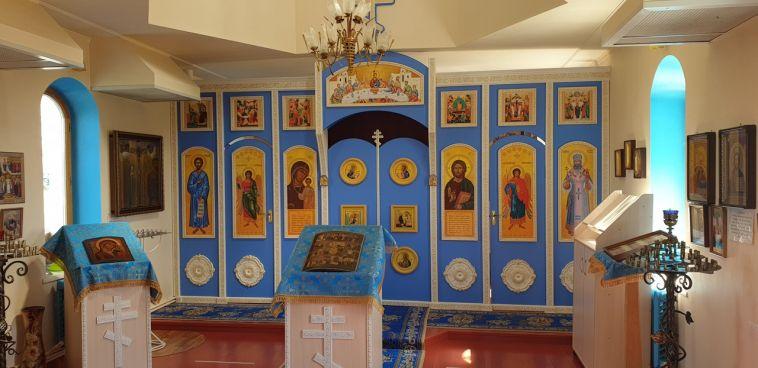 В храм магнитогорской епархии вернули старинные иконы