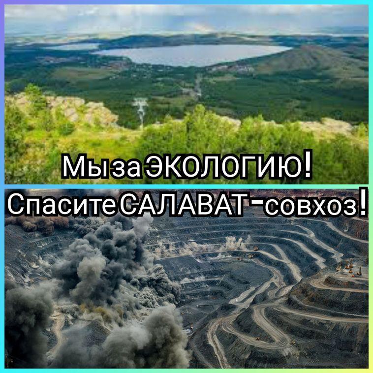 «Сначала Куштау, теперь Абзелил?» В соседнем Аскарово проходят экологические «флэшмобы»