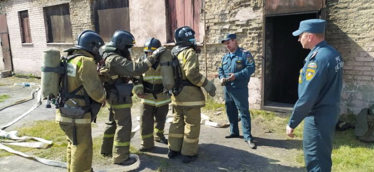 ВМагнитогорске прошли ежегодные соревнования МЧС