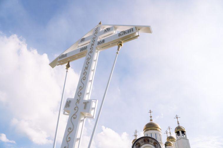 Поклонный крест в память о погибших при взрыве на К.Маркса, 164 освятят вдень трагедии