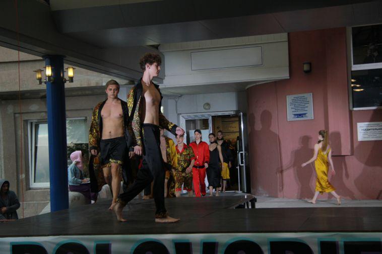 В Магнитогорске прошёл фестиваль моды и музыки «Половодье»