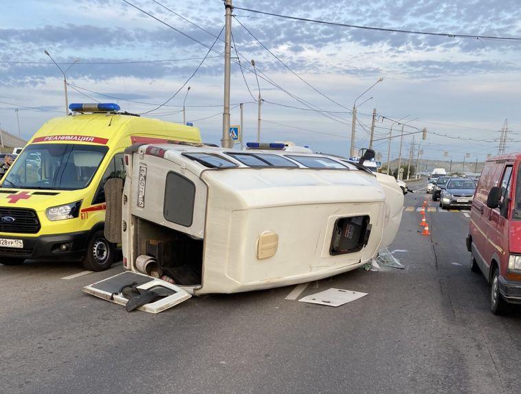В ГИБДД рассказали подробности о пострадавших в аварии с маршруткой